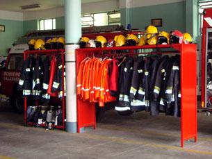 Ser bombeiro exige dedicação e algum sacrifício Foto: Verónica Pereira