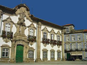A cidade de Braga já tem tudo pronto para torcer pelo Sporting de Braga na final da prova Foto: Vitor Oliveira / Flickr