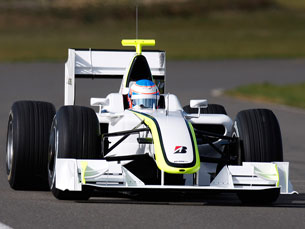 """Brawn GP conquista """"dobradinha"""" em Melbourne Foto: Brawn"""