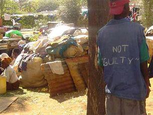 Os cidadãos do Zimbabué têm sofrido com o domínio de Robert Mugabe Foto: Sokwanele