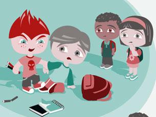 O bullying é uma realidade incontornável que preocupa pais e professores Foto: DR