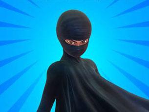 Burka Avenger luta pela paz, pela justiça e pela educação para todos Foto: DR