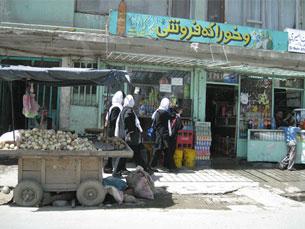 Cabul foi uma das cidades que a jornalista visitou Foto: