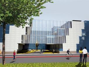 Edifício está projectado para ser autosuficiente em termos energéticos Foto: DR