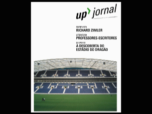 """Uma das capas do jornal """"UP"""" desenvolvidos pelos primeiros estudantes do curso Foto: DR"""