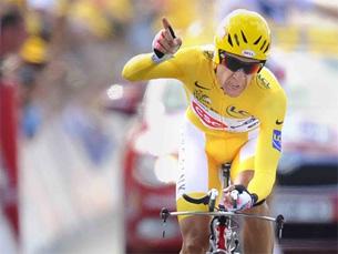 """Sastre conquistou a """"amarela"""" mais desejada do mundo pela primeira vez Foto:"""