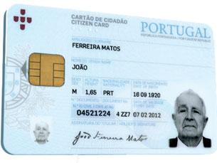 Um projecto pioneiro permite a leitura automática do cartão de cidadão Foto: DR