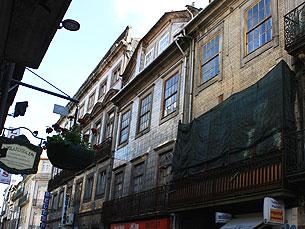 A reabilitação vai ser feita em habitações do Porto Foto: JPN