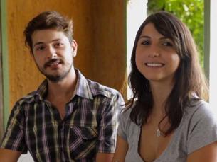 Eme e Jaque estão juntos há quatro anos e há mais de dois que decidiram mudar de vida Foto: Cristiane Schmidt/P3