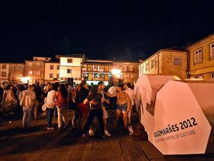 E os jovens vimaranenses, como é que descrevem Guimarães 2012?