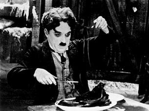 A mímica e a comédia eram umas das características de Charlie Chaplin Foto: