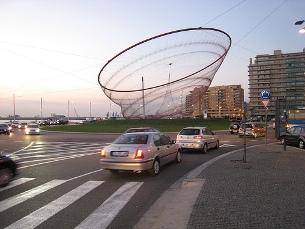 O novo projeto deverá ocupar um hectare na zona de Matosinhos Sul, na fronteira com o Porto Foto: Hugo Cadavez/Flickr