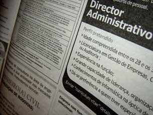A procura de emprego diminui face a Março de 2010 Foto: Arquivo JPN