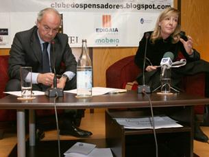 Paula Teixeira da Cruz volta ao Clube dos Pensadores para debater a justiça em Portugal Foto: DR