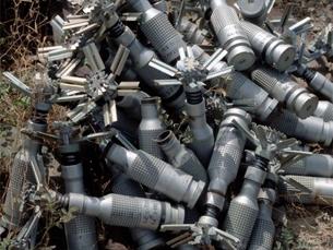 Cerca de 76 países terão bombas de fragmentação armazenadas Foto: John Rodsted / CMC