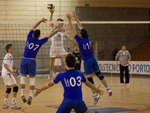O Voleibol é uma das modalidades dos CNU Foto: Rui Pinheiro / IPP
