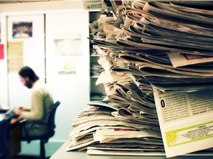 """No jornalismo actual """"não se pensa"""", diz Vasco Ribeiro Foto: Ricardo Fortunato/Arquivo JPN"""
