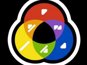 Nesta iniciativa há uma instalação do projeto ColorAdd, código para daltónicos Foto: DR