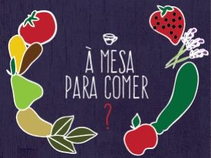 Sabia que cerca de 83% dos portugueses comem produtos hortícolas todos os dias? Ilustração: Rita Salomé Esteves