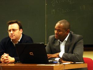 Há muito boas universidades e indústrias criativas em Portugal, diz Michael DaCosta Babb Foto: Patrícia Lima
