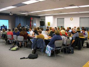 Sistemas de Informação em Saúde em debate no Porto Foto: Rebecca Morrison/Flickr