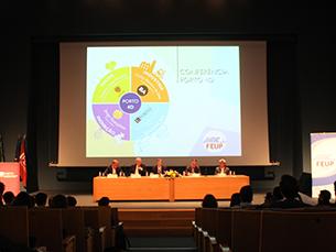 Indústria, Educação, Saúde e Inovação foram os temas discutidos na conferência Foto: Filipa Mesquita