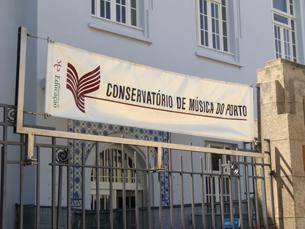 As novas instalações do Conservatório de Música do Porto situam