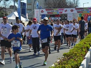 Este ano, a Corrida do Dia do Pai juntou 13 mil participantes, no Porto Foto: Sara Rocha