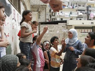 """Crianças do Líbanos """"ainda trazem consigo cicatrizes invisíveis"""" Foto: Roger LeMoyne/UNICEF"""