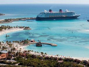 Os cruzeiros da DCL navegam, principalmente, na zona das Caraíbas, Mar Mediterrâneo e costa Oeste dos EUA Foto: DR