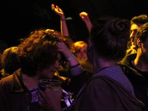 Dan Deacon, no palco Pitchfork, pôs os fãs a dançar e suplantou os My Bloody Valentine Foto: Eduardo Aranha