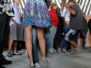 Junta-te a nós e vem dançar à hora de almoço de um dia de trabalho é o lema do Lunch Beat Foto: Vanessa Magalhães/Flickr