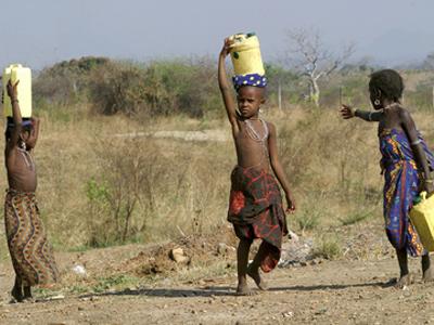UNICEF preocupada com crianças no Darfur Foto: DR