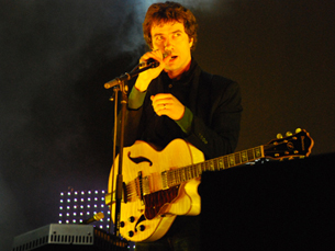 David Fonseca deu um concerto animado aos estudantes do Porto Foto: Luís Pedro Carvalho/ Arquivo JPR