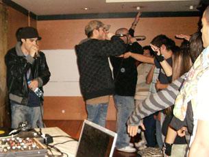 Dealema apresentaram o novo álbum em Matosinhos Foto: Marisa Ferreira