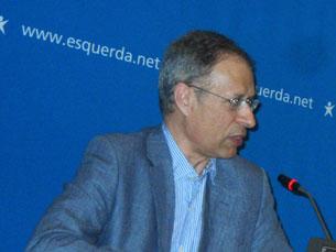 Francisco Louçã apela para que o conhecimento científico seja aberto a todos Foto: Rosário Costa