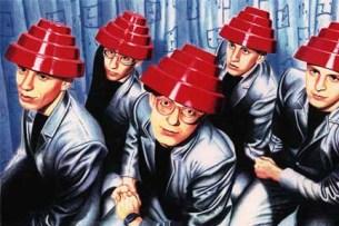 """Os Devo foram uma das bandas que passaram pelo """"Rock em Stock"""" Foto: DR"""