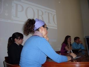 Foram quatro os workshops realizados no 1º Dia do Voluntário da UP Foto: Marta Afonso