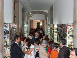 Exposições vão estar patentes até Setembro Foto: Nuno Sobrosa Martins