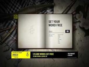 O Freedom Diccionary pretende dar voz aos que não têm liberdade de expressão Foto: DR