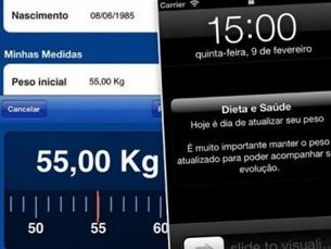 Aplicações para smartphones ou tablets podem ajudar a perder peso, segundo estudo norte