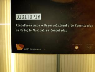 Espaço Digitópia abriu em 2007 Foto: Miguel de Azevedo Carvalho