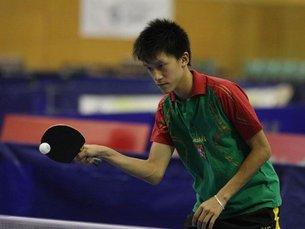 Diogo Chen já garantiu a presença nos Jogos Olímpicos da Juventude que decorrerão em Agosto deste ano Foto: DR