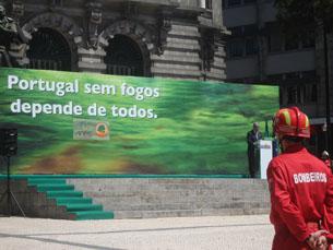 Aliados receberam apresentação do dispositivo de combate a incêndios florestais Foto: Carina Barcelos