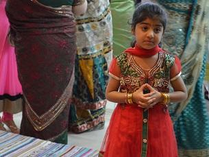 Celebrar o Diwali em Portugal é uma forma de manter a cultura indiana entre os mais novos. Foto: Ricardo Lima