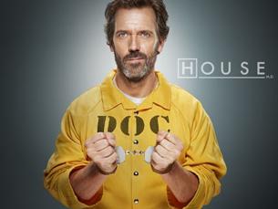 Dr. House foi a série mais vista do mundo em 2008 Foto: DR