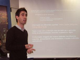 Projecto foi apresentado no I Congresso Internacional de Ciberjornalismo Foto: Cristiana Afonso