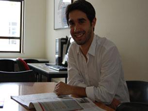 Duarte Monteiro apresenta, este sábado, o seu primeiro livro Foto: Tânia Monteiro