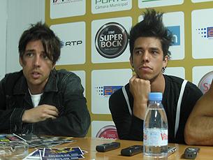 A banda afirmou desconhecer o episódio Foto: Nelvino Lima