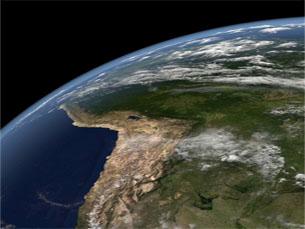 A camada do ozono protege a Terra dos raios ultravioletas Foto: DR